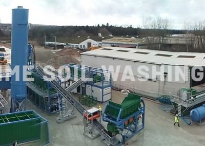 Soil Washing and Sediment Washing Mobile Plants