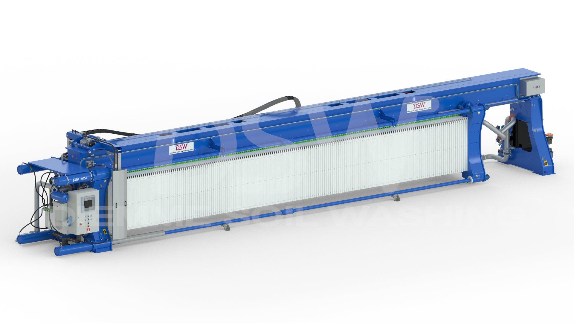 Le Filtre presse modèle UBF 1500