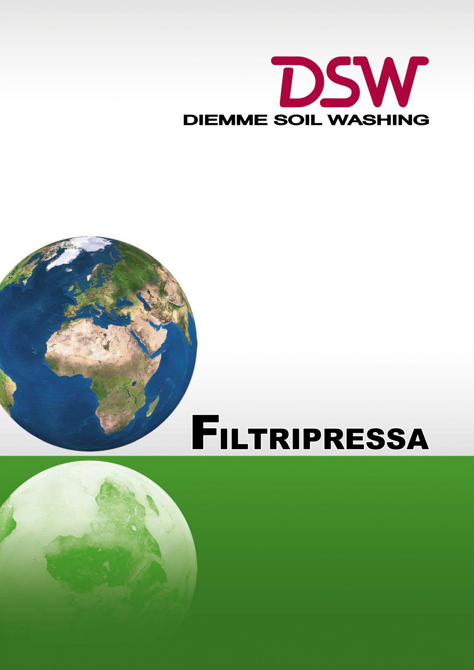 Scarica il catalogo Filtripressa Diemme Soil Washing