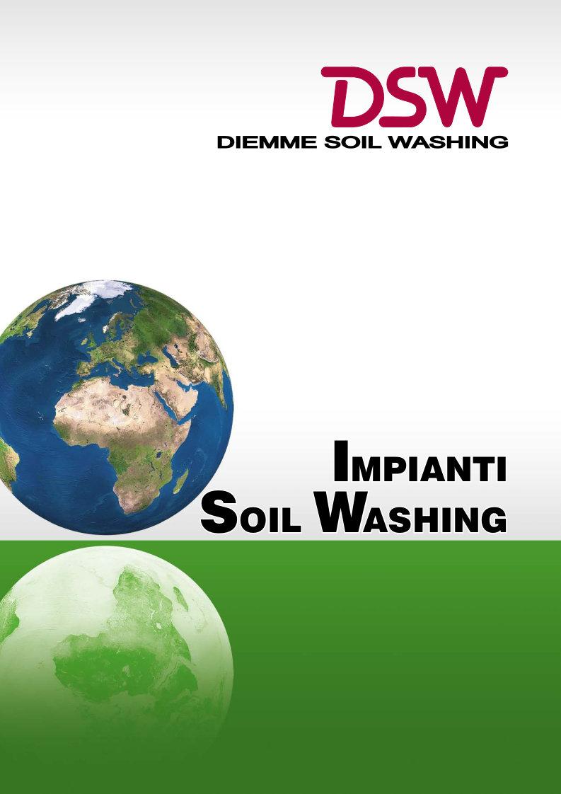 Scarica il catalogo Impianti  Soil Washing Diemme