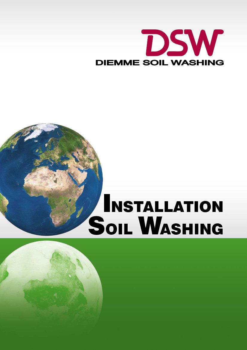Télécharger le Catalogue Installation Soil Washing