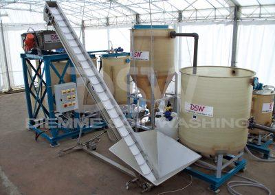 DSW Impianto Soil Washing Pilota