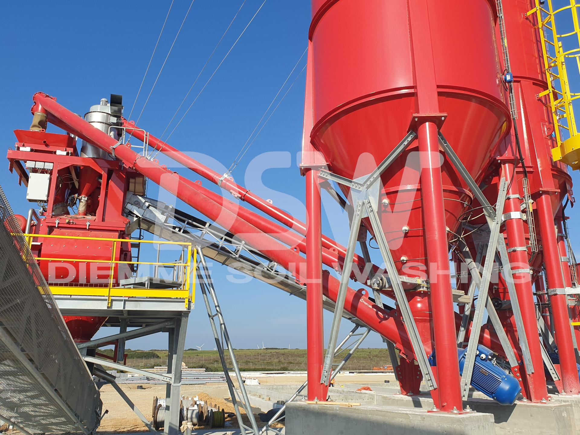 Impianti di stabilizzazione e inertizzazione
