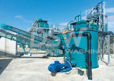Impianto Stazionario Soil Washing 1