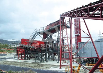 Impianto Stazionario Soil Washing 3