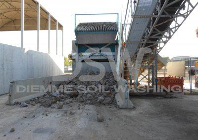Impianto Stazionario Soil Washing