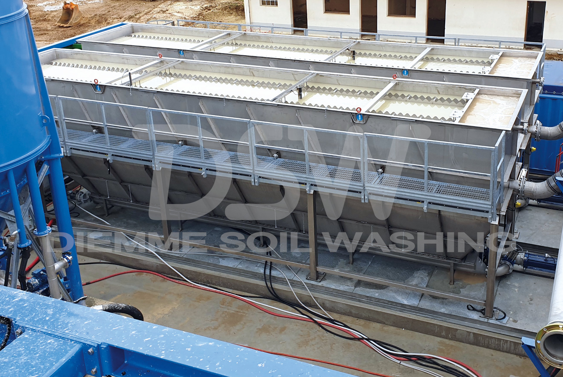 Water Treatment and Clarification Plants