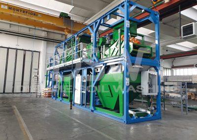 Impianto mobile Soil Washing 2019
