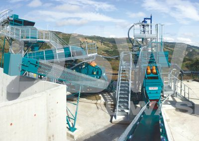 Impianto stazionario di Soil Washing per terreni inquinati