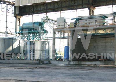 Impianto stazionario di Soil Washing per metalli pesanti
