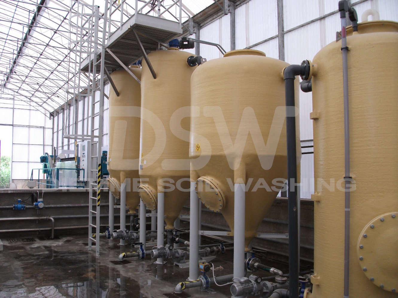 Physical Chemical Wastewater treatment plant