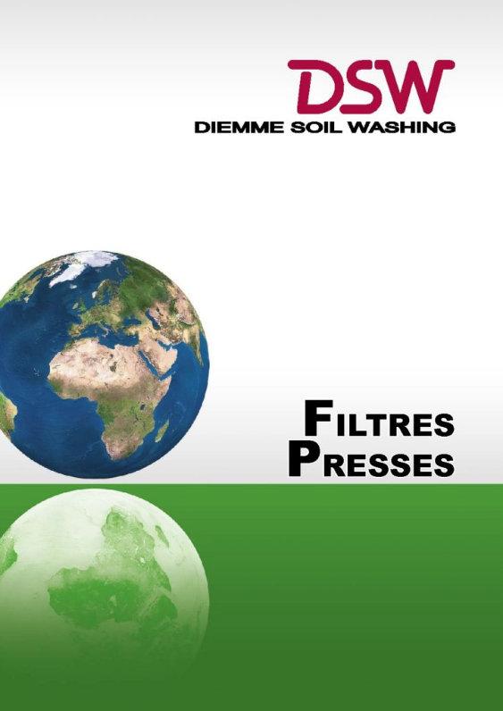 Télécharger le catalogue Filtres Presses Diemme Soil Washing